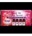 나우푸드 Love at First Scent 로맨틱 에센셜 오일 키트 각 4개의 병 1/3 FL OZ (10 ML)
