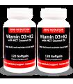 이노뉴트리션 비타민 D3+K2 MCT코코넛오일 120소프트젤 2병묶음