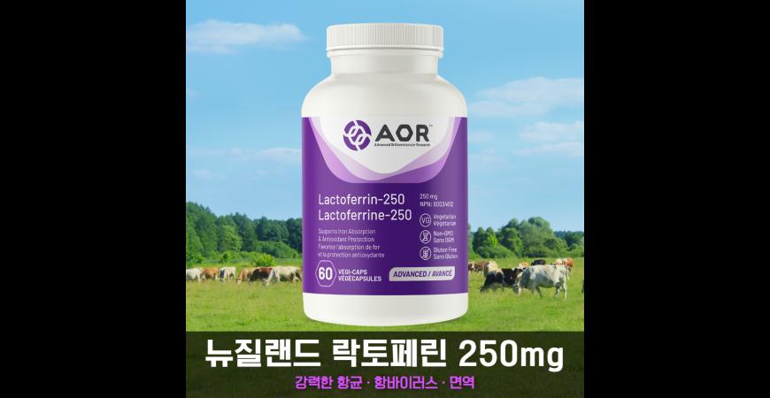강력한 면역 증진, 항바이러스 및 항진균 작용하는 락토페린 (Lactoferrin) 알아보기